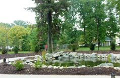 Delaware Highway Memorial Garden as dedicated October 15, 2007